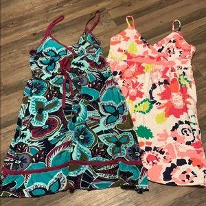 Sundresses O'Neill bright colors, soft beach swim